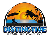 distinctive beach rentals logo