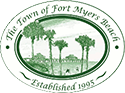 Fort Myers Beach town logo