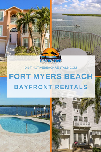 Fort Myers Beach vacation rentals on the bayside of Estero Island.