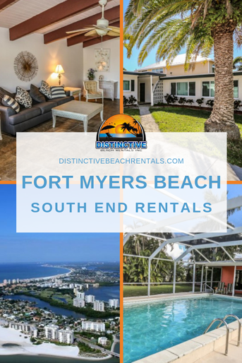 Our vacation rentals in south Fort Myers Beach range from 1 to 8 bedrooms and can accommodate up to 18 guests.