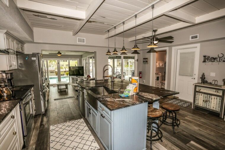 kitchen in Fort Myers Beach vacation rental