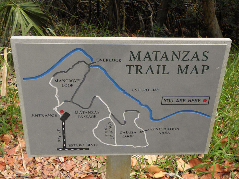 Fort Myers trail map